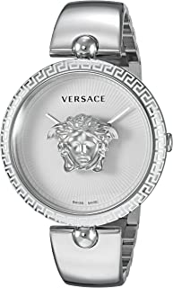 Women's Palazzo Empire Swiss-Quartz Watch with Stainless-Steel Strap, Silver, 17 (Model: VCO090017)