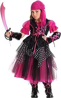 Princess Paradise Caribbean Pirate Costume, Medium