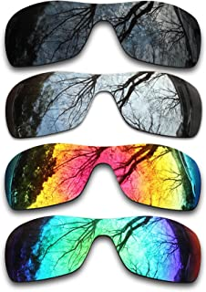 ToughAsNails Set of 4 Polarized Replacement Lenses for Oakley Antix Pack-BSFE2