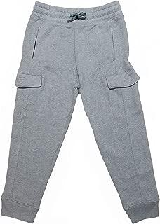 Al & Ema Premium Boy's Cotton comfortwear Sweat Pants with Pockets 2-Pack (Medium (8), Grey)
