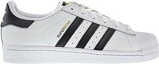 adidas Superstar J Big Kids Shoes Running White FTW/Core Black c77154 (6 M US)