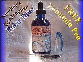 Noodler's Bottle 4.5 ounce Eyedropper Refill - Polar Blue 19805