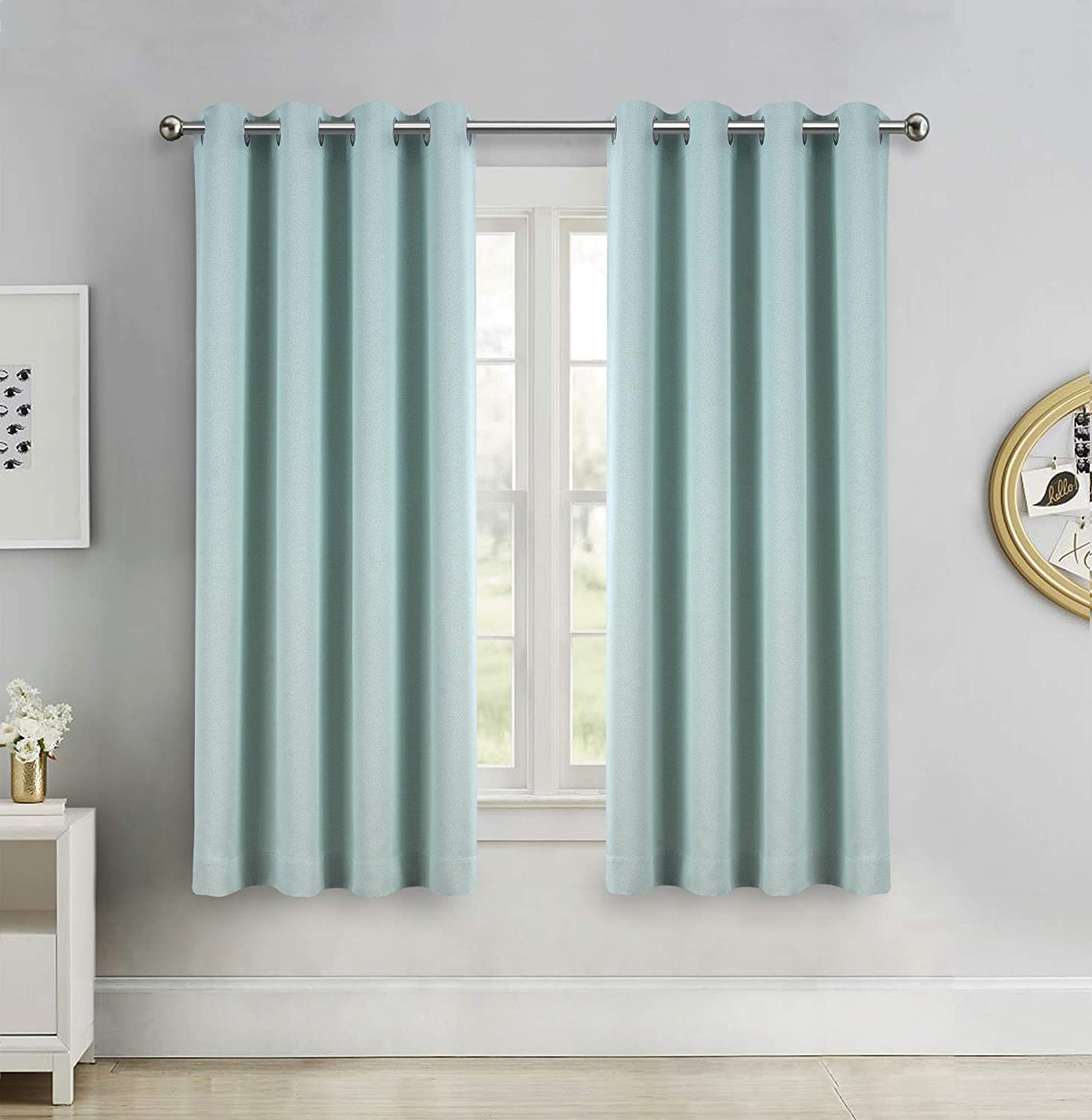 All stores are sold SINGINGLORY Duck Egg Blue Room Curtains Roo Darkening Regular discount Living for