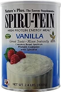 Nature's Plus, Spiru-Tein High Protein Energy Meal, Vanilla, 2.4 lbs (1088 g) - 2PC