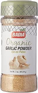 Badia Garlic Powder Organic 3 oz -Pack of 3