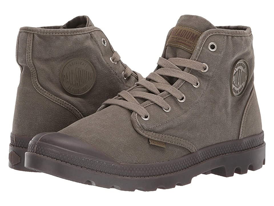 Palladium Pampa Hi (Dark Olive) Men