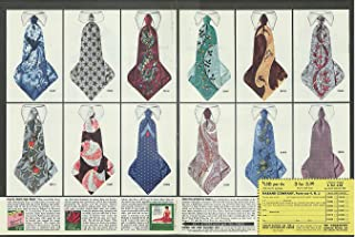 From the necktie super market Haband ad 1951 1952 Esquire Girl Calendar offer