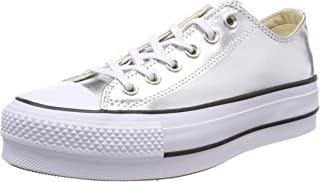 Women's Chuck Taylor All Star Metallic Platform Low Top Sneaker