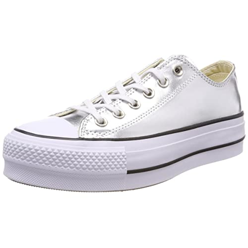 Converse Women s Chuck Taylor CTAS Lift Ox Canvas Fitness Shoes 225084f68