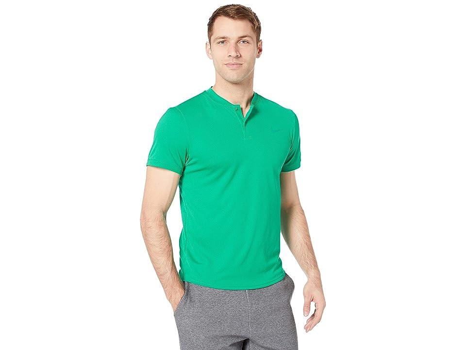 Nike NikeCourt Dry Polo Blade (Lucid Green/Lucid Green) Men