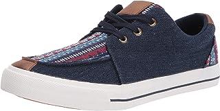 Roper womens Casual Shoe Sneaker, Blue, 10.5 US