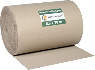 1 Rolle Wellpappe Rollenwellpappe 80cm 70lfm