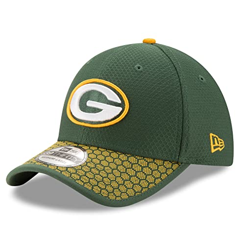 e2a170b0c New Era Men s Green Bay Packers 2017 Official NFL Sideline 39THIRTY Cap