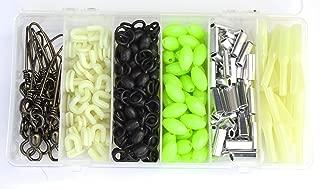 Deep Drop Rigging Kit - Glow Beads, Snap Swivels,Glow Sleeves, Loop Protectors, Crimps