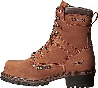 حذاء رجالي AdTec ذو مقدمة فولاذية فائقة مقاس 22.86 سم