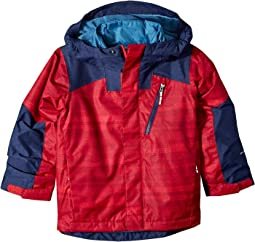 Mountain Red Compact Strokes Print/Collegiate Navy