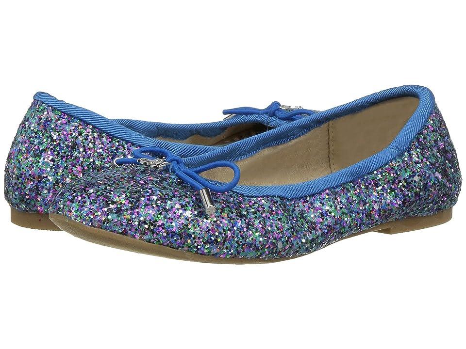 Sam Edelman Kids Felicia Ballet (Little Kid/Big Kid) (Aqua Glitter) Girls Shoes