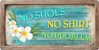 StickerPirate 572HS No Shoes No Shirt No Problem 5