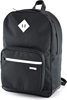 Formline Backpack with Smell Proof Front Pouch - Functional Travel Book Bag w/Built in Odor Proof Bag (10x9x2 inches) - SoCal Series Laptop Bags are Built to Fit 15 inch Computers and Textbooks