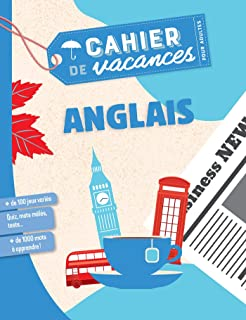 Cahier de vacances pour adultes Anglais