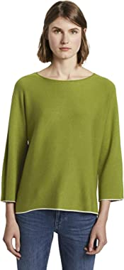 TOM TAILOR Batwing Double Face Sweater Femme