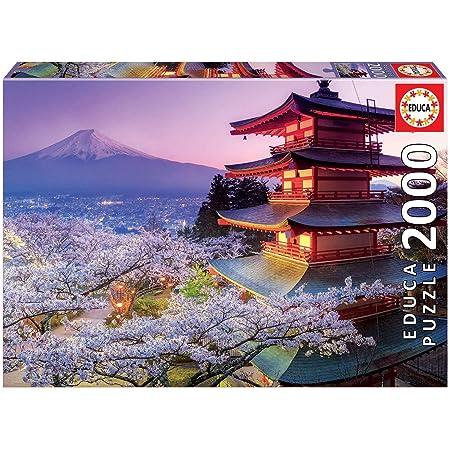 Educa - 16775 - Puzzle - Mont Fuji - Japon - 2000 Pièces