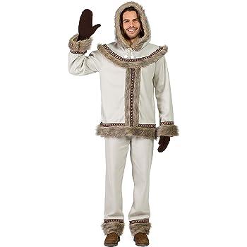 Disfraz Esquimal M-L: Amazon.es: Juguetes y juegos