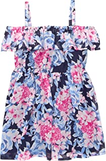 Gymboree Baby Girls Cold Shoulder Floral Print Dress