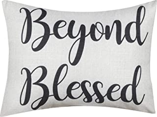 Mainstays Beyond Blessed Decorative Throw Pillow, 12