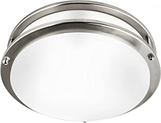 Hyperikon 12 Inch Ceiling Light, 75 Watt Replacement (20W), LED Flush Mount, 3000K, Dimmable, Energy Star