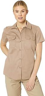 Women's Short-Sleeve Flex Work Shirt