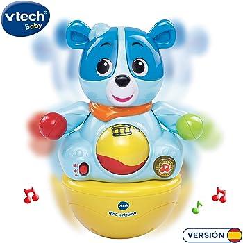 VTech - Nino tentetieso, muñeco interactivo tentempié que activa ...