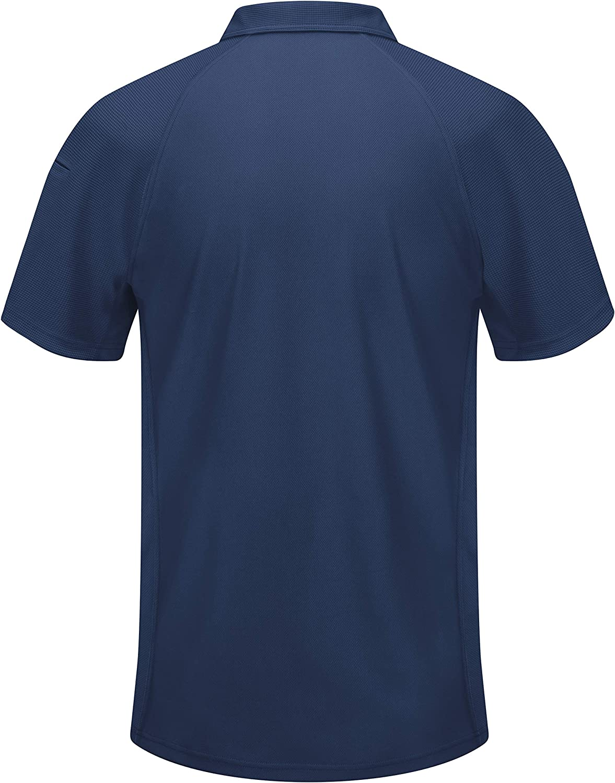 Red Kap Men's Big and Tall Big & Tall Active Performance Polo Shirt