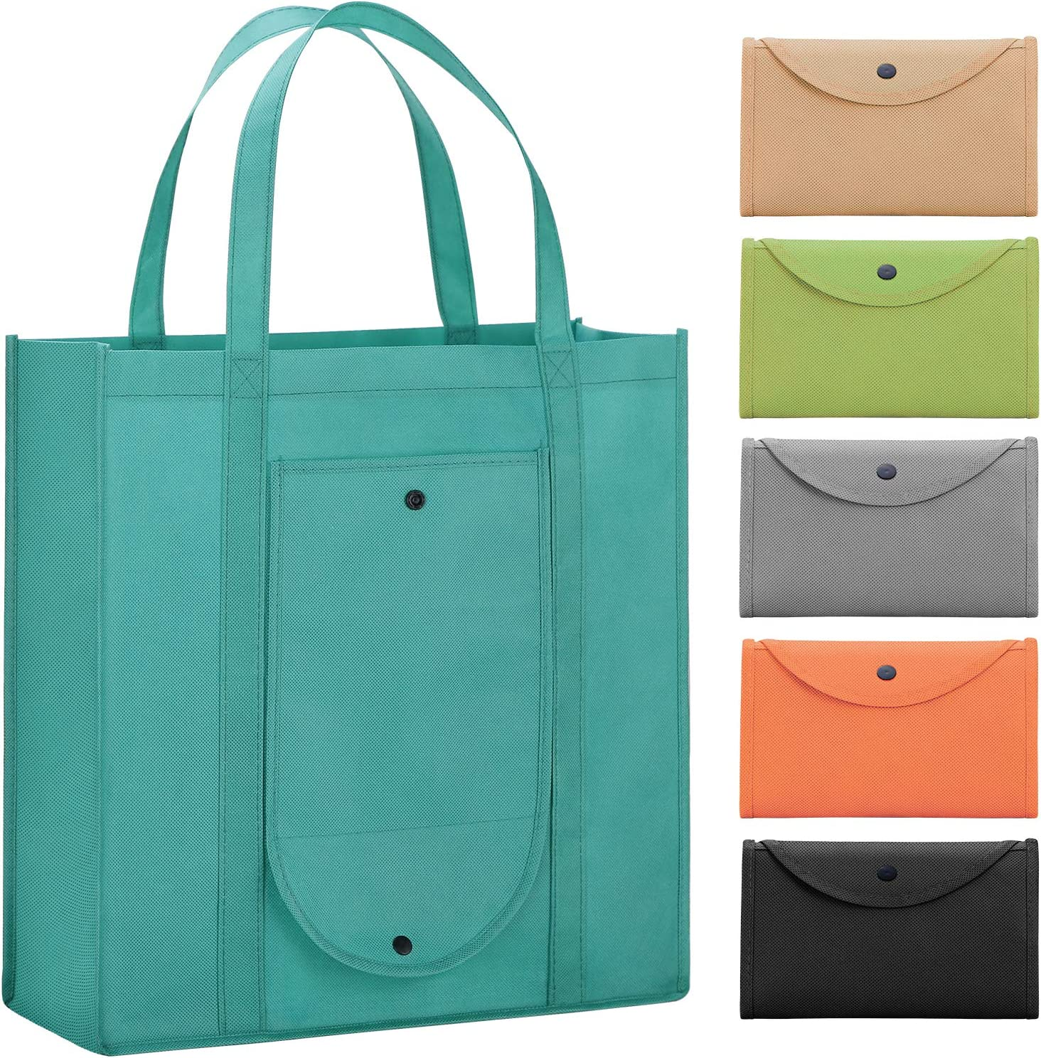 WiseLife Reusable Grocery Bags San Diego Mall Set of B Pack 6 Very popular! Shopping Large