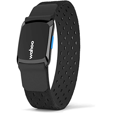 Wahoo Fitness Tickr Fit Heart Rate Monitor, Unisex Adulto, Negro, Talla Única