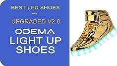 odema unisex led shoes