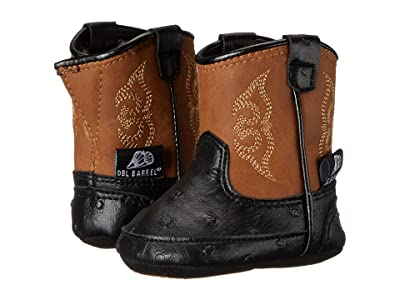 M&F Western Kids Baby Bucker Camden (Infant/Toddler) (Black) Cowboy Boots