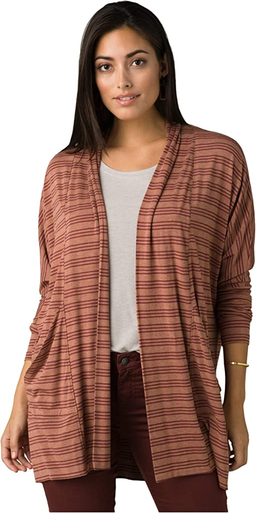 Vino Heather Stripe