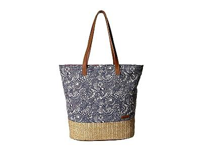 Sakroots Artist Circle Horizon Tote (Navy Spirit Desert) Tote Handbags