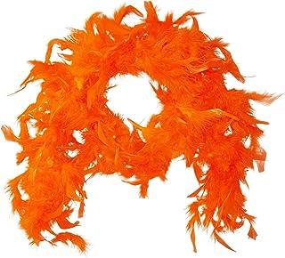 Kids Orange Feather Boa