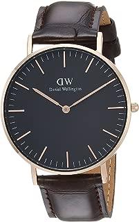 Classic Black York Watch