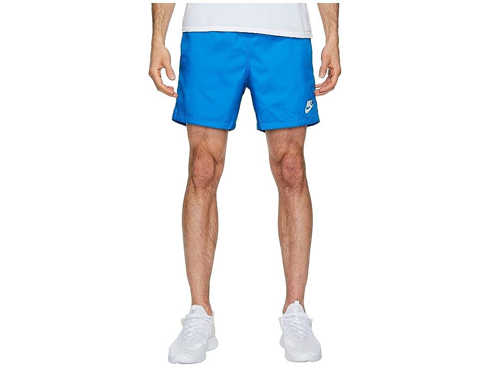 Nike Woven Flow Short (Blue Nebula/White/White) Men