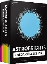 "Astrobrights Mega Collection, Colored Cardstock,""Brilliant"" 5-Color Assortment, 320 Sheets, 65 lb/176 gsm, 8.5"" x 11"" - MO..."