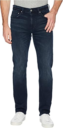 CKJ 026 Slim Jeans in Boston Blue/Black