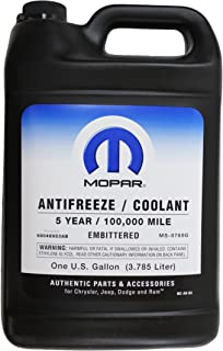 antifreeze jeep wrangler
