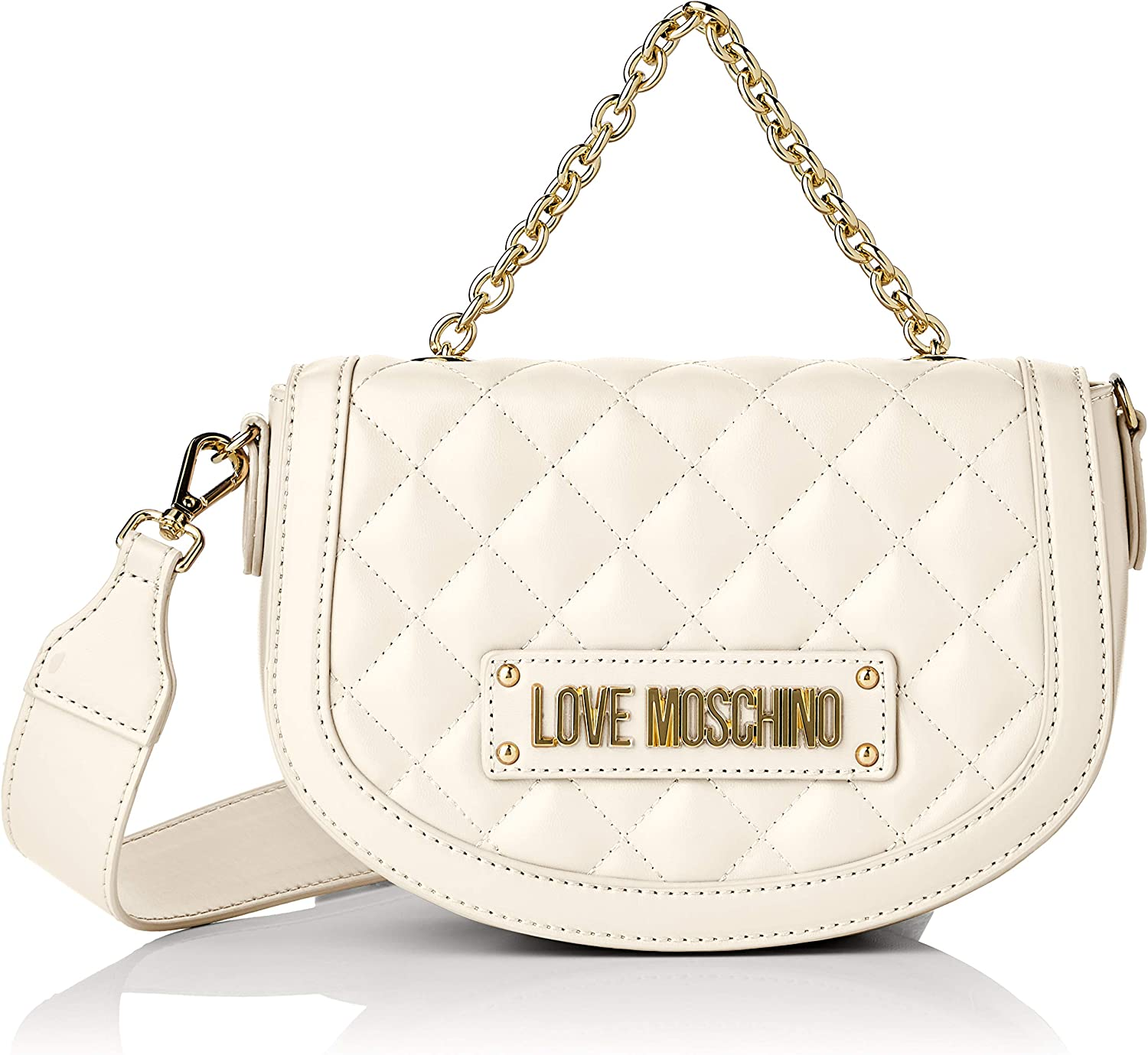Love Moschino Women's Quilted Nappa Pu Wristlet
