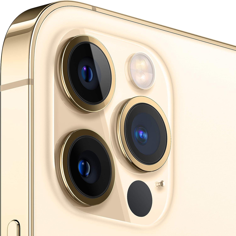 Sistema de cámaras Pro de 12 Mpx con teleobjetivo, gran angular y ultra gran angular, rango de zoom óptico x5, modo Noche, Deep Fusion, HDR Inteligente 3, Apple ProRAW y grabación de vídeo en 4K HDR con Dolby Vision