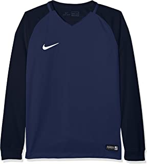 Camiseta Nike Trophy II ML AzulBlanco