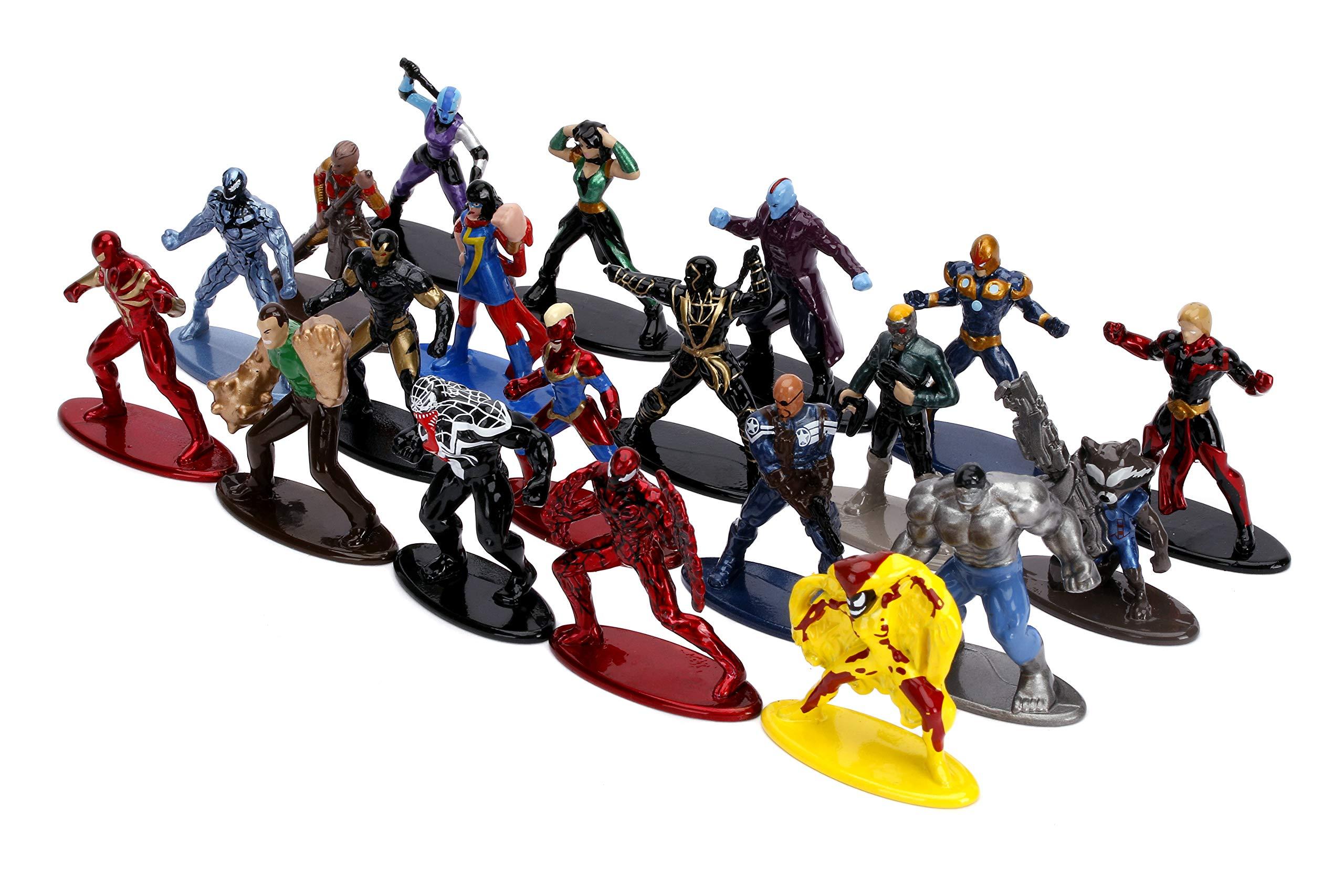 Lot of 2 multipacks Jada Toys 2020 Marvel Nano Metalfigs