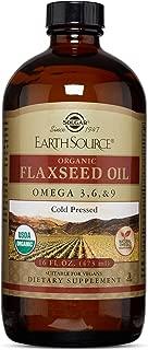 Solgar - Earth Source Organic Flaxseed Oil 16 oz